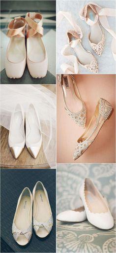 466f6c0a3 flat wedding shoes #weddingideas #weddingshoes #bridalfashion Wedding Shoes  Bride, Bridal Shoes,