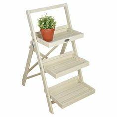 Bennett Plant Stand in White