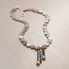 Upside Down Town Necklace