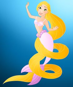 Disney Mermaids: Rapunzel