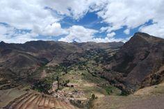 Stunning view from Pisac Ruins - Sacred Valley, Peru | photo by Megan Ball, Avanti Destinations