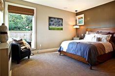 Sunny Contemporary Bedroom by Nicole Schmidt on HomePortfolio