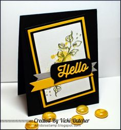 "#cards This card used ""Rose"" and ""Texture"" stamp sets from Dare 2B Artzy"