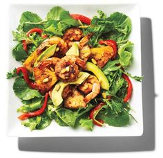My delicious Pineapple-Grilled Shrimp Salad, perfect for grilling this summer: http://www.mensfitness.com/nutrition/healthy-recipes/pineapple-grilled-shrimp-salad @Men's Fitness