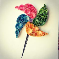 quilling windmill