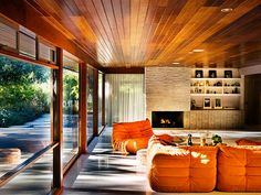 Togo suite in a Richard Neutra home by photographer Jason Madara.