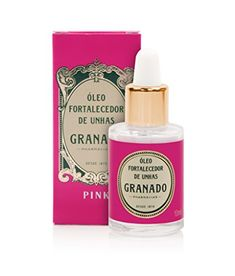 Linha Pink Granado  Oleo Fortalecedor de unhas 10 ml  Granado Pink Collection  Fortifying Oil for Nails 034 Fl Oz *** You can find out more details at the affiliate link of the image.