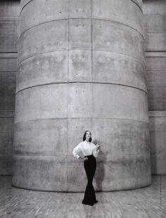 Christy Turlington photographed by Patrick Demarchelier, 1992. #Thefashionspot