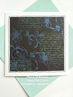 Floral Corner Flourish and Pearl embossing powders from Honey Doo Crafts  #honeydoocrafts #floralcornerflourish #pearlembossingpowder #flowers #dtsample #stamping #stamp #cardmaking #card #creative #craft #ilovetocraft #creativity