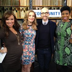 Loved getting the Community scoop from Gillian Jacobs & Jim Rash on today's #newyorklivetv! Season 5 returns to #NBC, tune in!