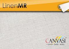 Linen MR Canvas Paper, Cotton, Canvas Frame, Base Coat, Linen Fabric