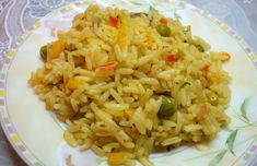 Moroccan Style Rice Pilaf with Saffron, Ginger amd Cumin: Moroccan Rice Pilaf with Saffron