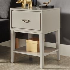 the marley modular nightstand features a modern design with