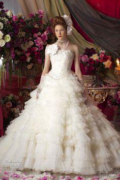 stella de libero wedding dresses 2011 - marie antoinette bridal gown