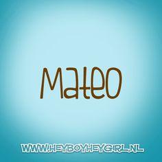 Mateo (Voor meer inspiratie, en unieke geboortekaartjes kijk op www.heyboyheygirl.nl)