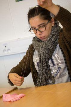 PROJET «DE FIL EN AIGUILLE «(élans) Atelier de couture et de création Greta Sud-Normandie - Agence de L'Aigle  © Photo : Bruno Compagnon  #GRETA #Orne