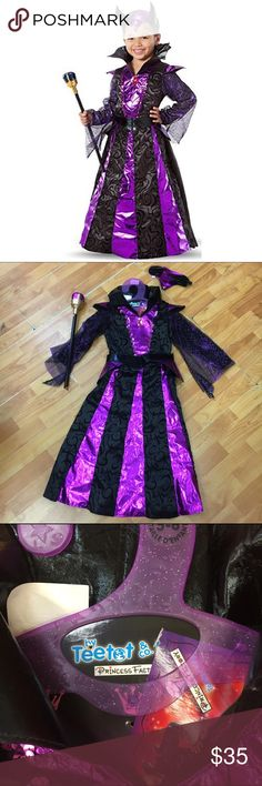 Spotted while shopping on Poshmark: Teetot Evil Queen Costume Maleficent 5/6 NEW! #poshmark #fashion #shopping #style #Teetot #Other