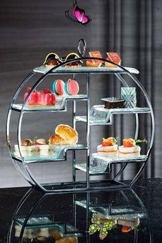 MO Macau : Le French May afternoon tea set<br> Afternoon Tea Set, Afternoon Tea Parties, Tea Recipes, Coffee Recipes, Cooking Recipes, Vegan Teas, Tea Places, Food Displays, Tea Sandwiches