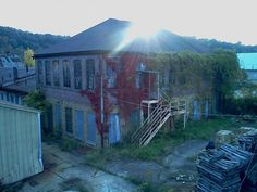Abandoned factory in Jeannette, PA