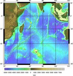 Meeresgeologie im Internet: Karten des Indischen Ozeans [www.meeresgeo-online.de]