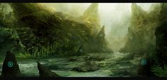 Forgotten Ruins II by Narandel