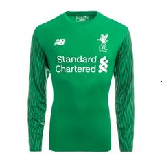 Liverpool FC Season Home LS Goalkeeper LFC Shirt,all cheap Jerseys Shirts are AAA+ quality and fast shipping,wholesale and retail,all the uniforms will be shipped as soon as possible,guaranteed original Replica best quality China Kits Liverpool 2017, Liverpool Soccer, Steven Gerrard, Neymar, Messi, Premier League, Goalkeeper Kits, Iker Casillas, T Shirts