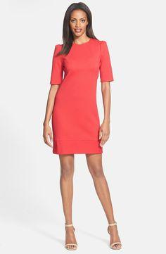 a58c590d0af elbow sleeve shift dress Dress Clothes For Women