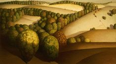 Habit of Art: Painted landscapes representing the idyllic American life today and in the past