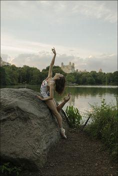 Stephanie - Central Park, New York City, The Ballerina Project