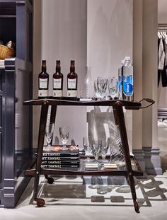 This bar cart - found a The Making of goop market | Goop