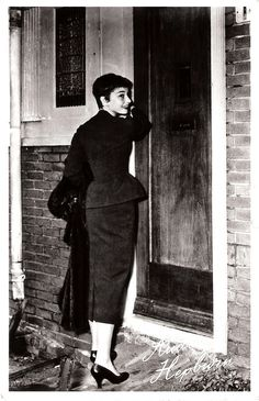 https://flic.kr/p/QZS5eg | Audrey Hepburn in Arnhem | Dutch postcard by Takken, Utrecht, no. 1599. Audrey Hepburn visiting Arnhem after the war.  Elegant, talented and funny Audrey Hepburn (1929-1993) was a Belgian-born, British-Dutch actress and humanitarian. After a start in the European cinema she became one of the most successful Hollywood stars of the 1950s and 1960s.  For more postcards, a bio and clips check out our blog European Film Star Postcards Already over 3 million views! Or…