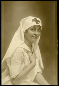 HAH Storyline: WWI nurse, Red Cross 1917  For the most part in order for women to Get into WWI they had to be nurses.