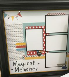 'Magical Moments' catalogue layout. CTMH Magical