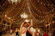 pictures of barns for weddings | Barn Wedding WIth LIghts