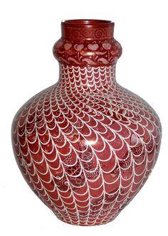 William De Morgan - Fish and Net Vase http://www.demorgan.org.uk/