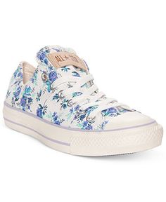 Converse Women's Shoes, Chuck Taylor Floral Print Casual Sneakers - Sneakers - Shoes - Macy's