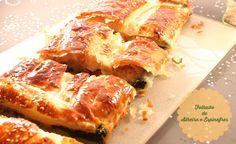 No Conforto da Minha Cozinha...: Folhado de Alheira com Espinafres...porque aqui a ...