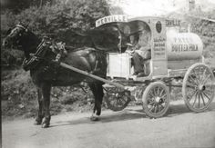 Merville Dairy delivery in North Dublin Old Pictures, Old Photos, Dublin Street, English Architecture, Photo Engraving, History Photos, Past Life, Dublin Ireland, Reading Room