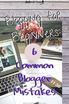 Don't make these common blogger mistakes, start your journey off on the right foot with a few of these blogging tips for beginners. #blogging #bloggingforbeginners #blogtips #blogcontent #blogtopics