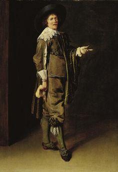 Portrait of a Gentleman, late 1630s Jan Miense Molenaer Dutch, c. 1610-1668 Oil on panel F.1972.52.P © The Norton Simon Foundation