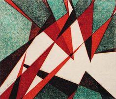"""Peevies"" linocut by Sybil Andrews. Sybil Andrews, Bannister, Linoprint, Scratchboard, Lino Cuts, Linocut Prints, Gravure, Art History, Printmaking"