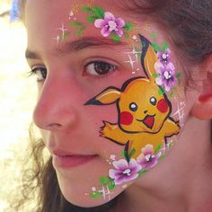 Face painting #Pikachu here Pikachu there Pikachu is everywhere! Painted this design on a gig yesterday. He's looking chubby I know but it was in improvisation! #pokemongo #pokemongofan #pikachufacepaint #pokemonfacepaint #learnfacebodyart #facepaint #facepainting #facepainter #olgamurasev  #аквагрим #грим #ольгамурашева #faceart #facepaints #facepainted #bodypainting #bodypainter #paintlife #howtopaint#learntopaint