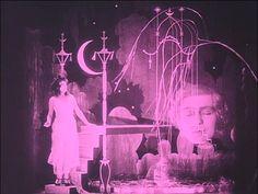 Scene from German Expressionist masterpiece, Warning Shadows: A Nocturnal Hallucination, 1923