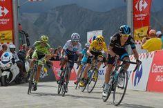 Porte, Froome, Quintana, Nibali and Contador. Stage 17.  Digne-les-Bains to Pra Loup.