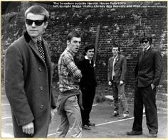 The North London Invaders: Suggs, Chalky, Chrissy Boy, Bedders, and Mike