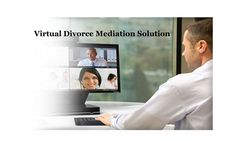 Online Virtual Divorce Mediation Solution Divorce is difficult. Don't make it more difficult than it already is. Using everyday technology will make your divorce less difficult and it does not have to involve you spending tens of thousands of dollars.