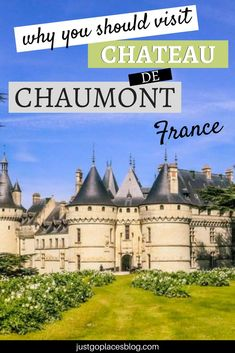 Visiting Chateau de Chaumont and its gardens in the Loire Valley in France is something that no one should miss while on a road trip through France. Check out the top reasons why you shouldn't miss a visit to this really pretty Loire Castle and why it's o Best Vacation Destinations, Best Vacations, Loire Castles, Visit Bordeaux, Travel Rewards, Visit France, France Travel, Travel Europe, Photo Essay
