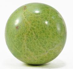 Green Opal 2.74 inch .79 lb Polished Crystal Sphere - Madagascar