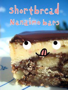 Seeking Sweetness in Everyday Life - CakeSpy - Short and Sweet: Shortbread NanaimoBars