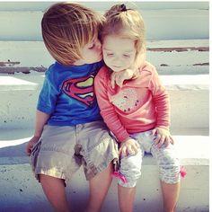 Every girl needs her superman!